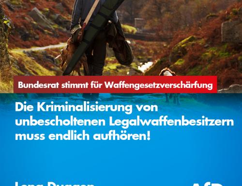 Bundesrat stimmt für restriktiveres deutsches Waffengesetz