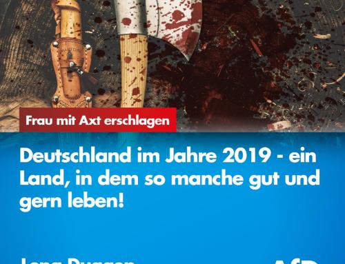 Frau in Limburg mit Axt und Schlachtermesser erschlagen