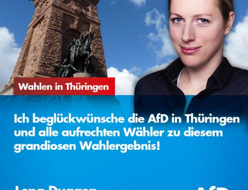Grandioses Wahlergebnis der AfD in Thüringen