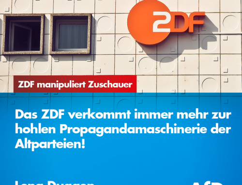 ZDF macht Grünen-Politikerin zur Anti-AfD-Kundin