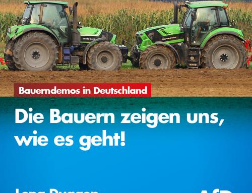 Bauerndemos in Deutschland