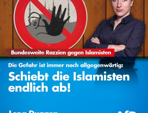 """Bundesweite Hausdurchsuchungen im """"islamistischen Milieu"""" bei tschetschenischstämmigen Beschuldigten"""