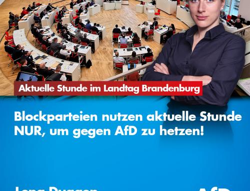 Aktuelle Stunde im Landtag Brandenburg: Der Täter von Hanau war ein psychisch gestörter Einzeltäter – Teil 2