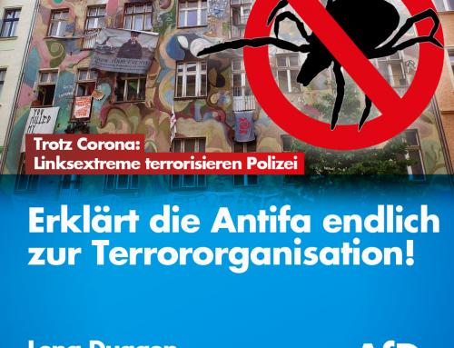 Trotz Corona-Krise: Linksextreme terrorisieren bundesweit Bürger und Polizei