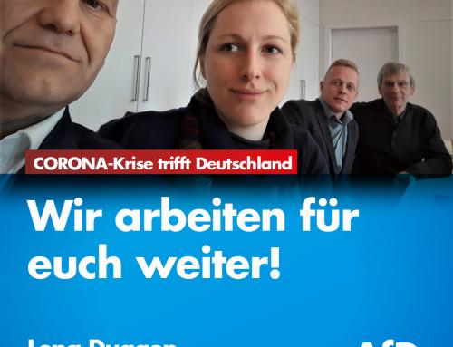 CORONA-Krise trifft Deutschland hart – Wir arbeiten für euch weiter