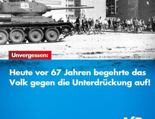 Nationaler Gedenktag zum Aufstand vom 17.Juni 1953