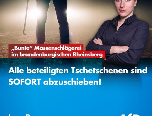 """""""Bunte"""" Massenschlägerei im brandenburgischen Rheinsberg"""