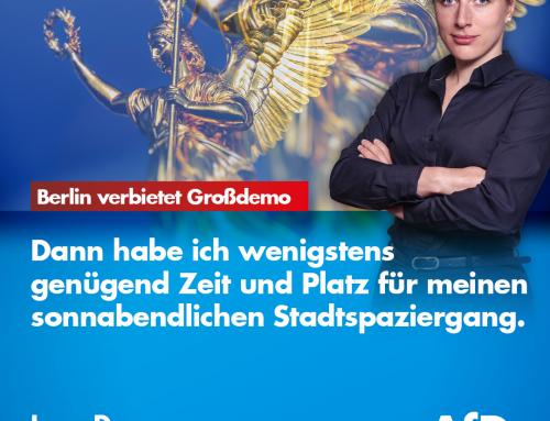 Berlin verbietet Großdemo am Wochenende