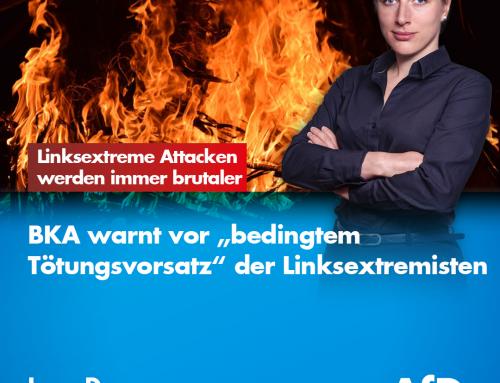 Linksextreme Attacken werden immer brutaler: BKA warnt vor bedingtem Tötungsvorsatz bei Linksextremisten