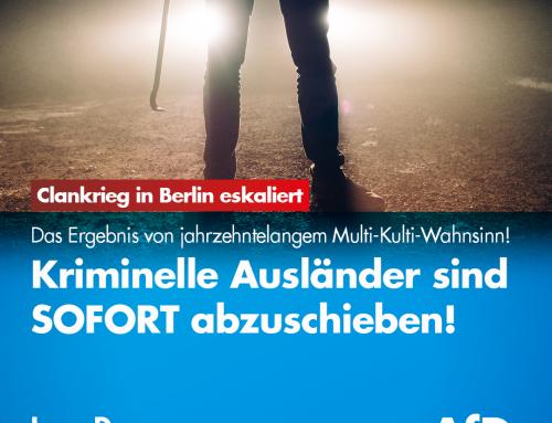 Clankrieg in Berlin eskaliert – Gleich 3 Massenschlägereien am Wochenende in Berlin
