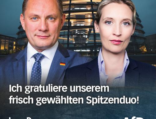 AfD-Spitzenduo für die Bundestagswahl