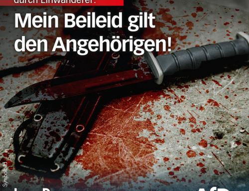 Brutale Messerattacke durch somalischen Einwanderer in Würzburg